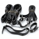 Intimate Love Cuffs Straps Set - Black