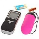 Wireless 10-Mode Vibrating Body Massager with 1.5' LCD Remote Control (2*AAA + 1*23A)